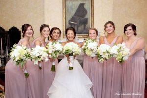 Charlottesville wedding party photography